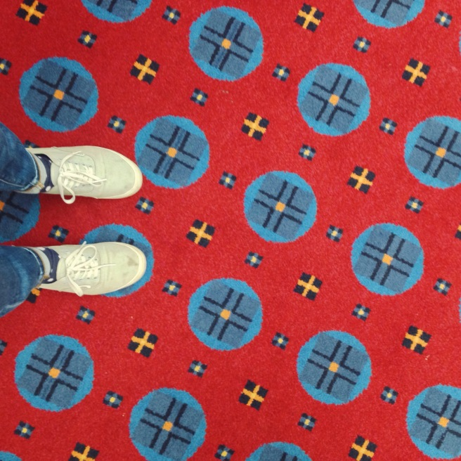 I really liked the carpet at the convention center.